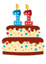 IberGour's 11th anniversary cake