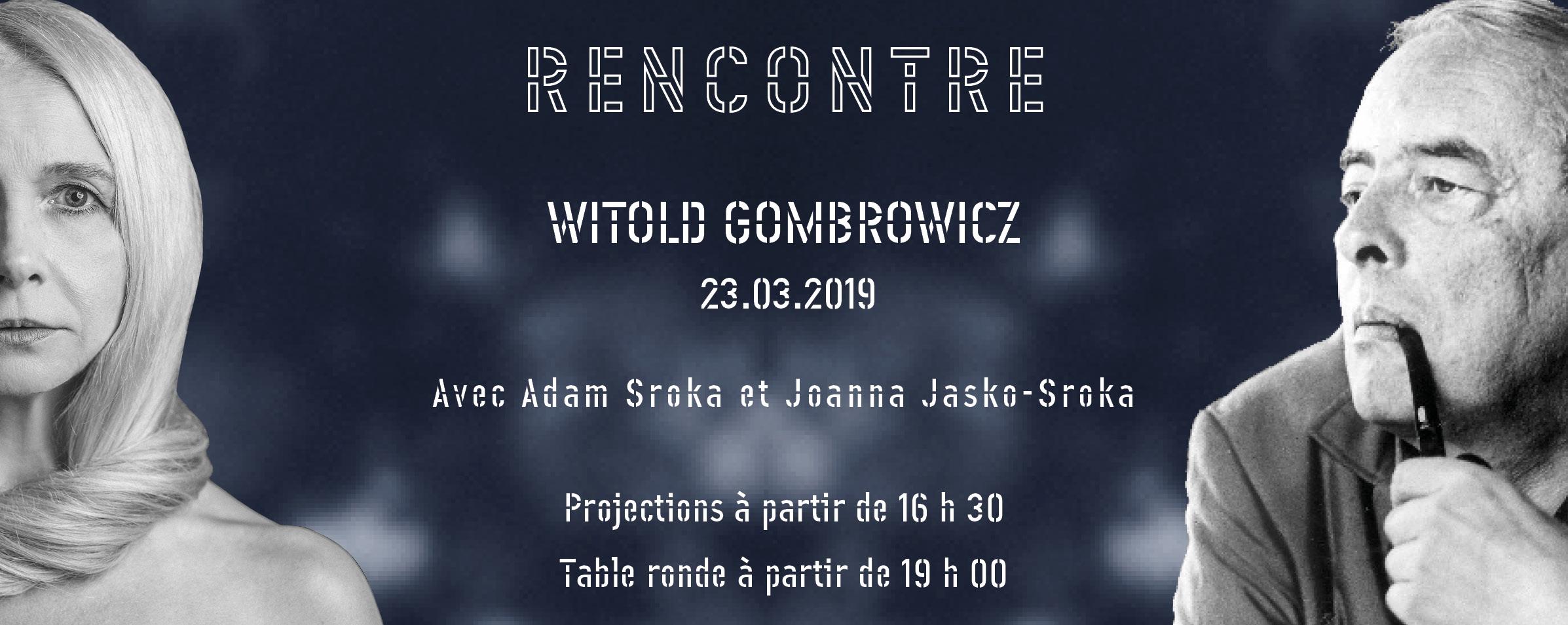 Journée de rencontres autour de Witold Gombrowicz