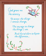 Serenity Prayer Sampler