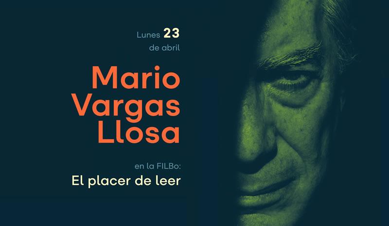 Conversartorio de Mario Vargas Llosa en el Jorge Eliécer Gaitán