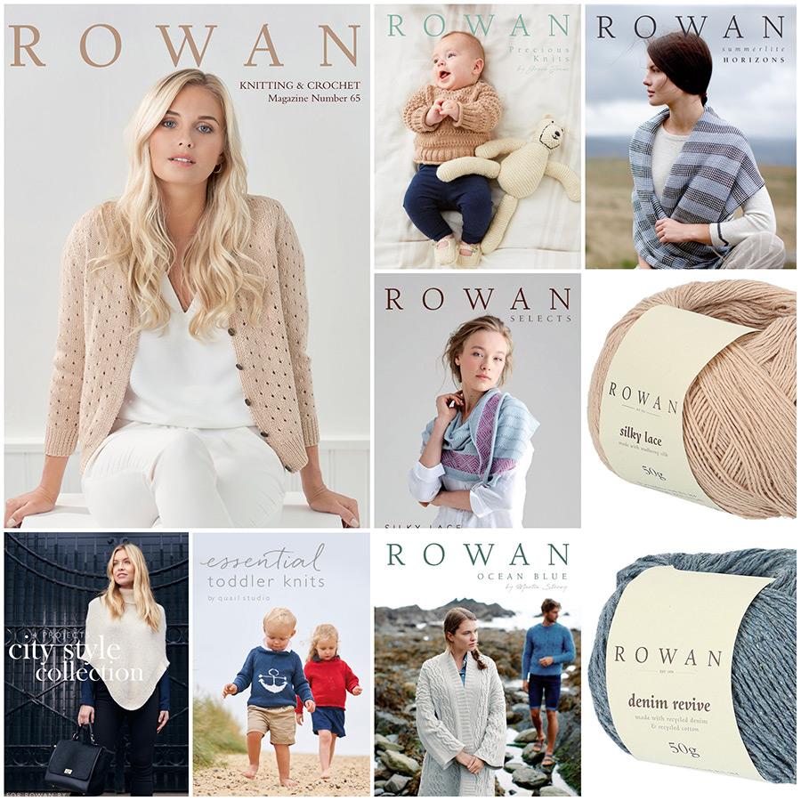 ROWAN YARNS Spring/Summer 2019