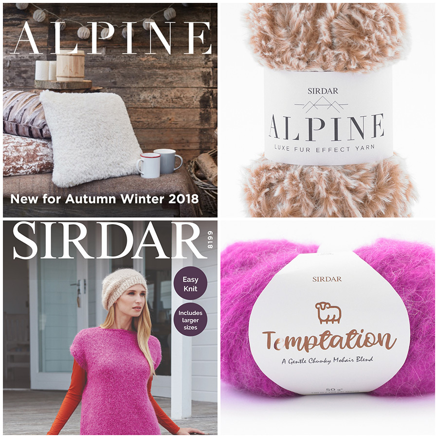 Autumn/Winter 2018 Sirdar Collection from English Yarns